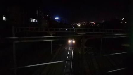 20200414 212315 阳安线客车K205次列车反向出汉中站