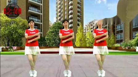 2020龙川思念广场舞桂芳演示:确认过眼神