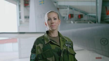 Officer i Försvarsmakten Emelie