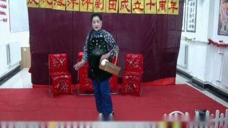 王凤花 常继新表演的评剧《刘巧儿》小桥送线