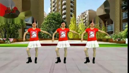 2020龙川思念广场舞个人版演示:别等老了才明白