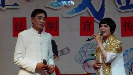 魏塘、姚庄、俞汇戏迷演出节目沪剧选段《海滩诀别》