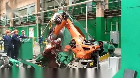 1600吨电动螺旋压力机管箍全自动生产线锻造设备