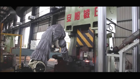 50KJ数控模锻锤自动化生产线齿轮精密锻造设备