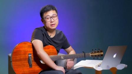 《浪人情歌》吉他谱吉他弹唱教学G调入门版 高音教