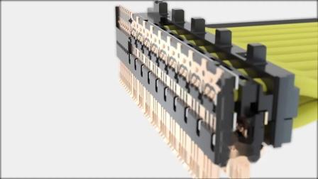 Molex 莫仕NearStack PCIe 连接器及线束