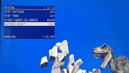 Roland V-02HD 视频切换台的测试信号发生器功能演示