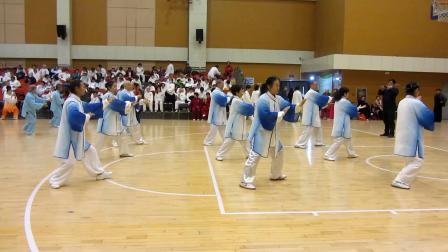 42式太极拳-美佳站在新华区全民健身运动会比赛