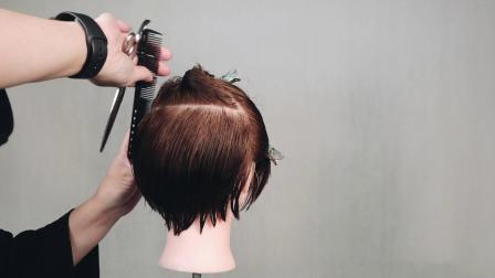 海蒂老师最新美发视频 方圆三角修饰头型剪裁视频