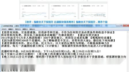 股票技术分析 股票入门基础知识视频教程 股票K线技术分析 股票行情分析 炒股一招先 (61)