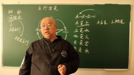 八字命理快速入门(八字实战初级)003课:五行生克