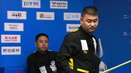 [乔氏台球]秦皇岛站王晓倩VS刘淼 2020中式台球大师赛