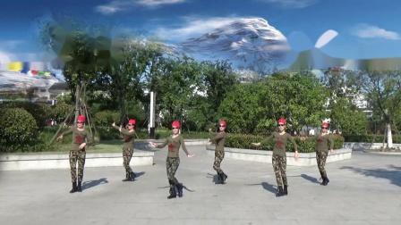苏州金门银杏广场舞《雪山姑娘》