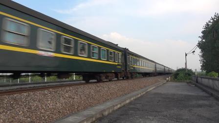 K1192次 DF110124 通过宁芜线K76KM采石河路公铁立交