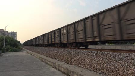 货列 81991次 HXN50294 通过宁芜线K76KM采石河路公铁立交