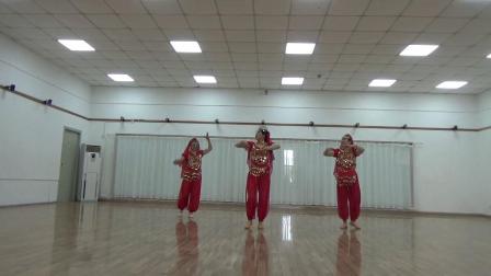 印度舞蹈  美丽姑娘  习舞  健娜,兰英,阿兰