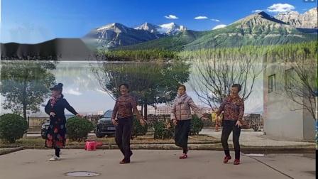 河北峰峰温馨广场舞 回到山沟沟 编舞 舞清秋
