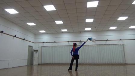 舞蹈  关山酒   习舞  月亮(蓝衣版)