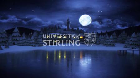 英国斯特灵大学 2020圣诞快乐
