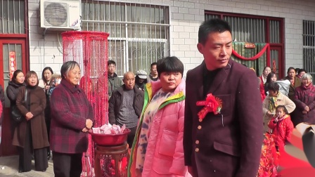 代二墩李秋红结婚录像下集