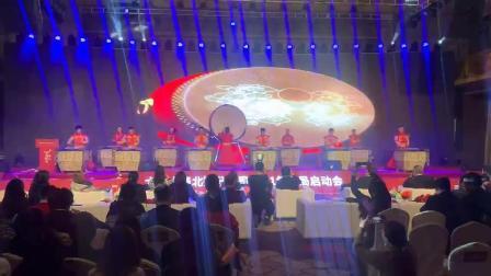 北京击鼓乐团:北京年会开幕式战鼓表演中国传统大鼓表演