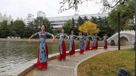 融合中国风肚皮舞 太湖美 烟台丝媚东方舞