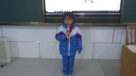 《上学歌》赵凌萱 一(2) 庆云县常家镇福和希望小学2020.11.25