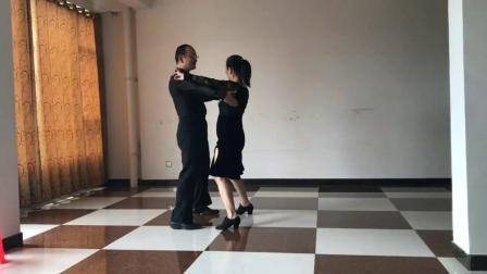 社交舞——双人舞十四步讲解 - 西瓜视频