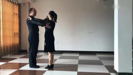 双人舞十四步讲解 、慢放_好看视频