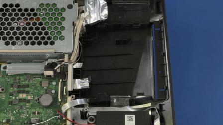 服务拆卸:HP 22、24 和 27 多功能一体机电脑