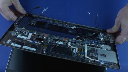 服务拆卸:HP EliteBook 830、835 G7 笔记本电脑
