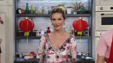 《俄罗斯明星学做中国菜》:天做菠萝咕噜鸡