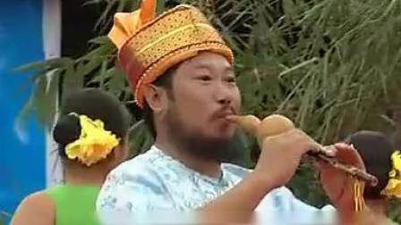 葫芦丝演奏大师哏德全 月光下的凤尾竹_标清_标清(5661845)