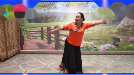 新月恬静广场舞《卓玛泉》369