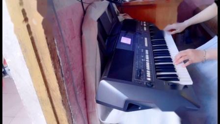 云淡风轻电子琴演奏---《歌在飞》