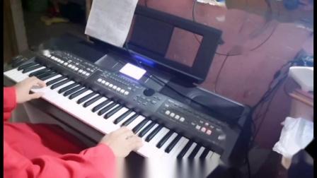 云淡风轻电子琴演奏---《大海dj》