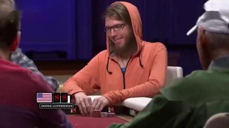 德州扑克:一个顶对为啥要和对方打光?