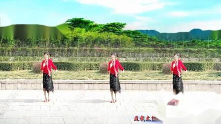 美玲玉广场舞《是我太傻》编舞:雨夜老师