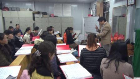 苏老师指挥心泉排练1