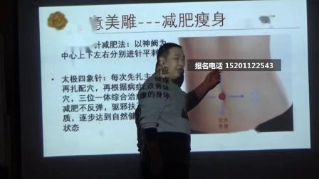 中医针灸美容-刘涛心意美雕-减肥针法操作视频