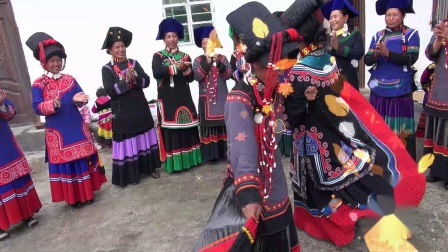 彝族结婚彝族婚礼彝族新歌婚庆阿西克布与阿于阿依上集