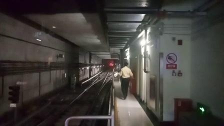 广州地铁21号线B8型外星人列车 增城广场折返进站