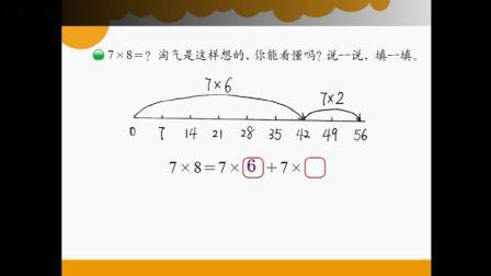 8.2胡佳梅-数学 二年级上册 8单元 6-9乘法口诀 《一共有多少天》