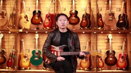 Fender 63 ST Masterbuilt By Carlos Lopez电吉他测评【世音琴行】