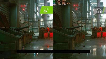 赛博朋克2077 RTX ON-OFF效果对比视频