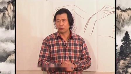 国画人物勾线方法 国画人物用上面颜色 中国画人物白描学