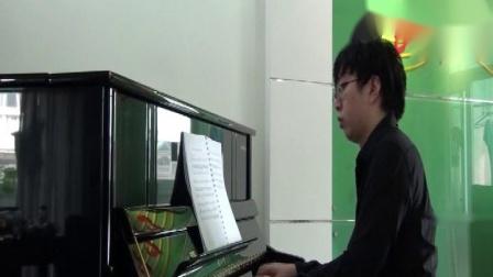 邵光禄小提琴《每当我走过老师的窗前》钢琴伴奏