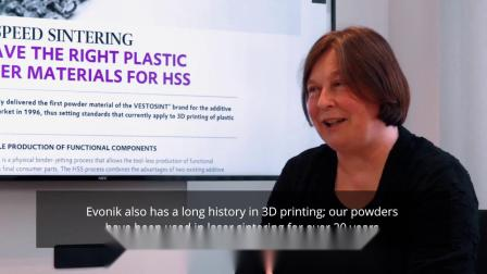How Evonik uses High Speed Sintering for 3D Printing Material Development