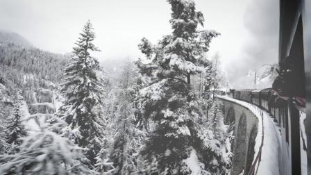 RhB蒸汽火车 - 从Landquart至Klosters