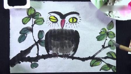 国画竹子的绘画技法 详细实用 中国画舞蹈分解教程视频